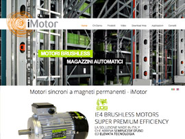 Sito Web iMotor Motori Brushless Ultraefficienti by Digital Art #1