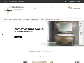 Sito Web + Outlet eCommerce La Bussola Arredo Bagno by Digital Art #2