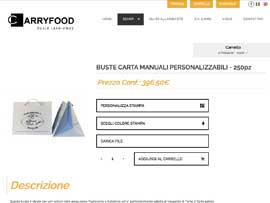 Sito Web eCommerce Carryfood Buste Alimentari Personalizzabili by Digital Art #2