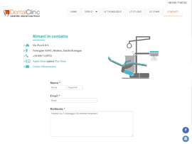 Sito Web Studio Dentistico DentalClinic by Digital Art #2