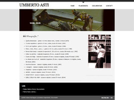 Sito Web Blog Umberto Asti Regista Documentarista by Digital Art #2