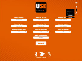Web App Interna Nike UseToIntegrate Settore Commerciale by Digital Art #3