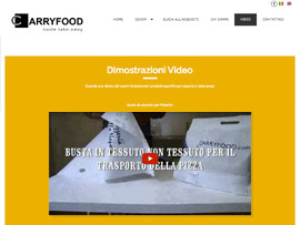 Sito Web eCommerce Carryfood Buste Alimentari Personalizzabili by Digital Art #3