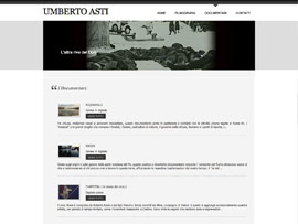 Sito Web Blog Umberto Asti Regista Documentarista by Digital Art #3
